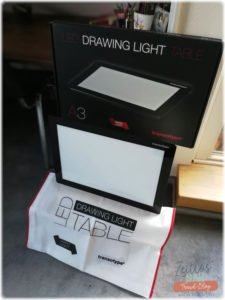 Produkttest-Transotype-LED-Drawing-Table-Verpackung